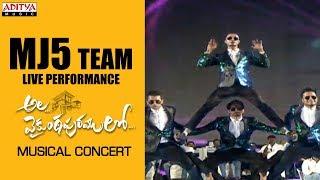 MJ5 Team Live Performance @ Ala Vaikunthapurramuloo Musical Concert
