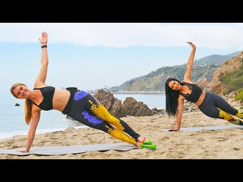 30 Min Pilates Workout with Cardio // Abs Butt Legs Shoulders