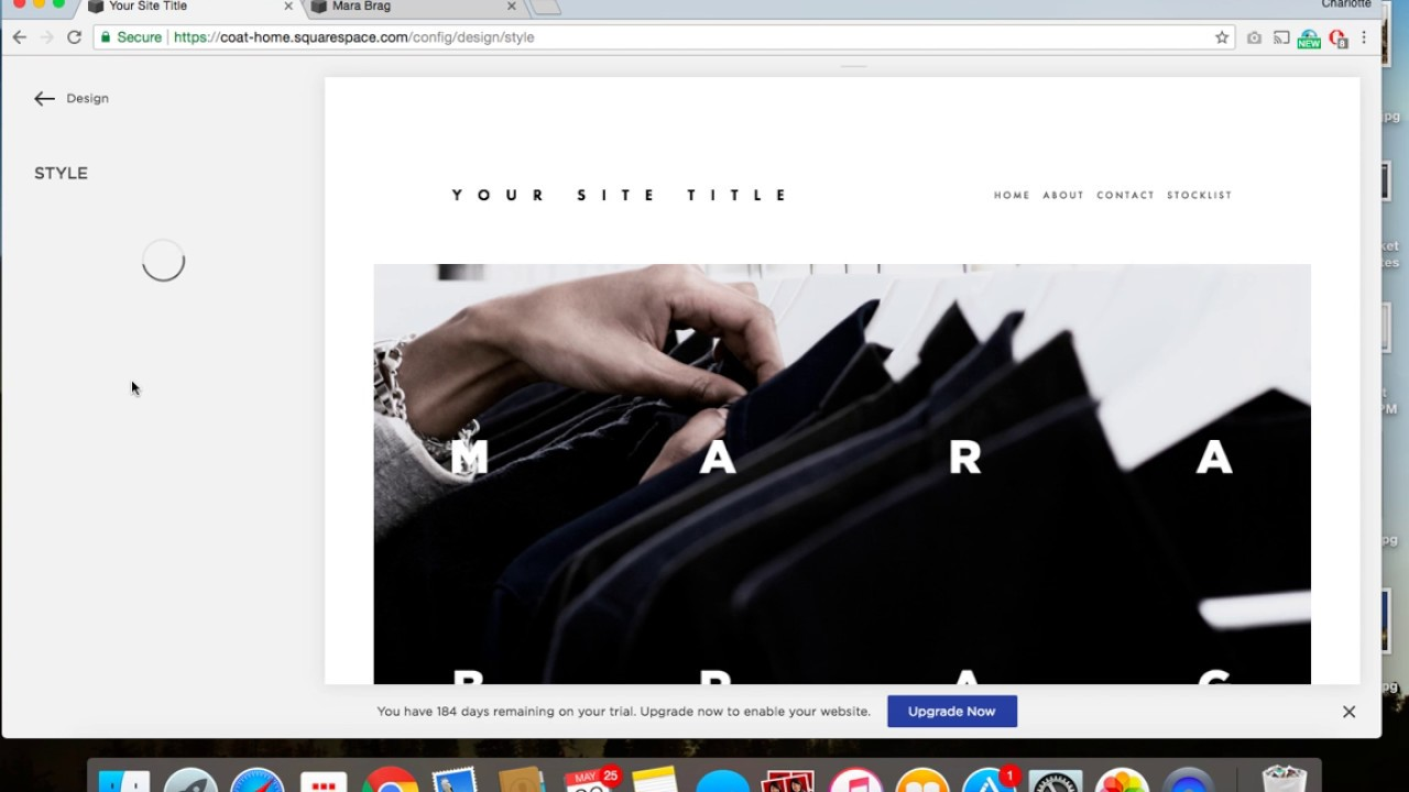 Enable and Disable Parallax Scrolling on a Squarespace website