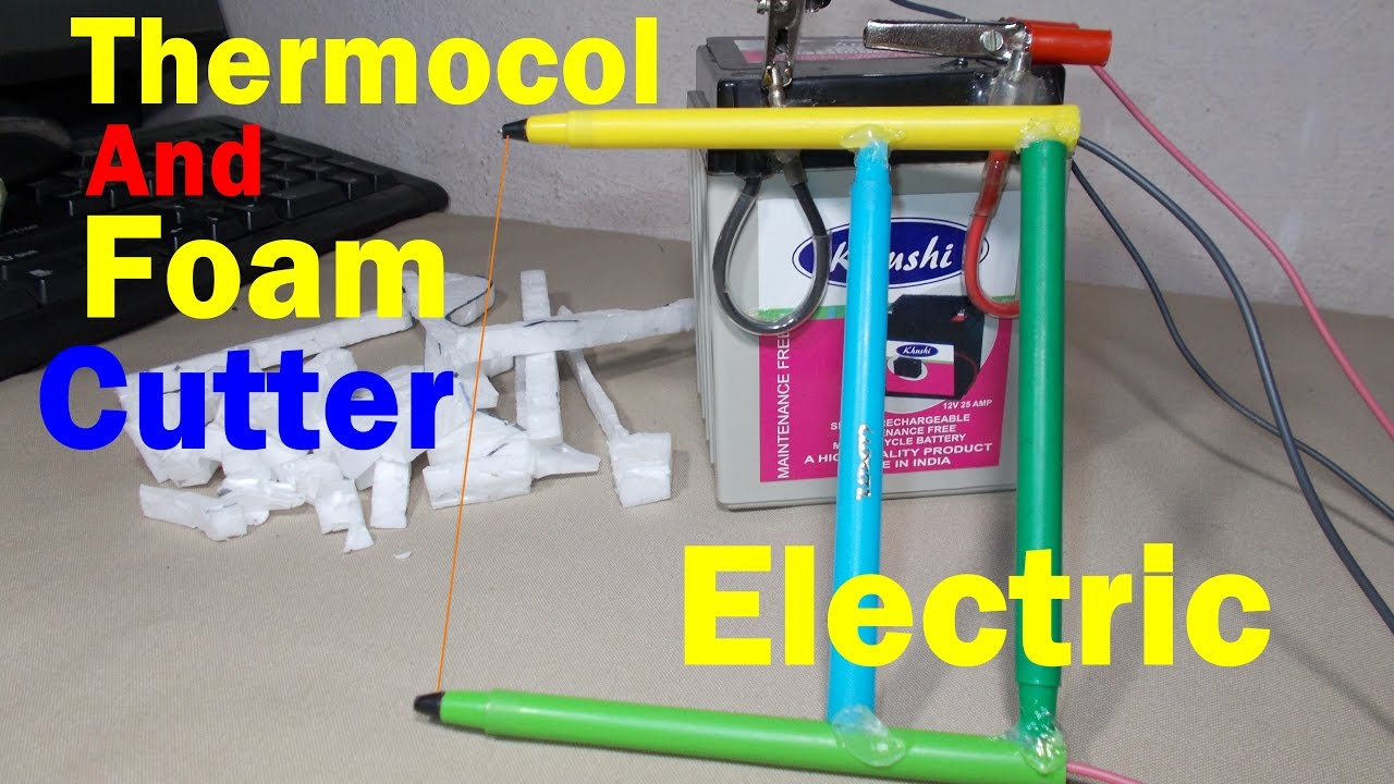 How To Make A Foam Cutter  How To Make A Thermocol Cutter