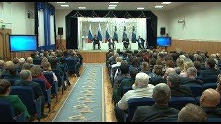 Отчёт Грайворона и Борисовки перед губернатором