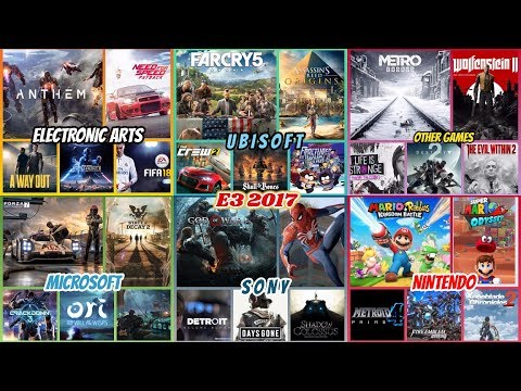 The Best Upcoming Games E3 2017 Release Dates Youtube