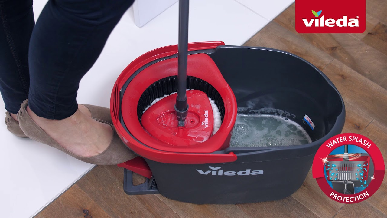 Everything You Need To Know About The Vileda Easywring Spin Mop Bucket System