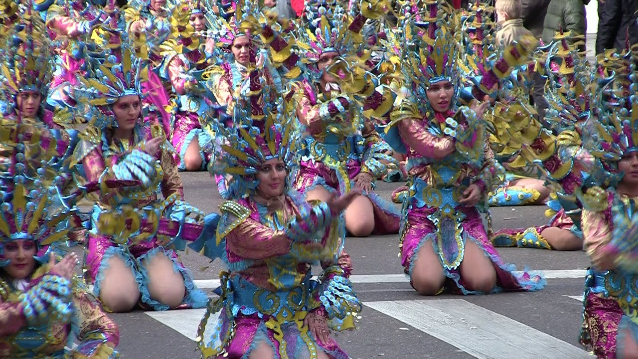 carnaval de badajoz comparsas