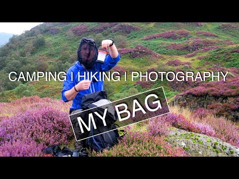 What's In My Bag | Photography, Camping, Hiking