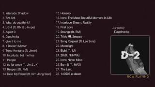 'A dream that flies away' | BTS Suga playlist