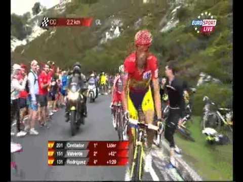 Przemysław Niemiec wygrywa 15. etap Vuelta a Espana (7.09.2014)