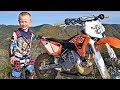 4-Year-Old Biker Is A Motocross Superstar