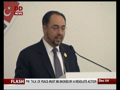 Afghan foreign minister Salahuddin Rabbani Addresses heart of Asia summit