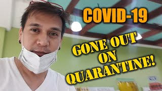 First Time To Go Out In 4 Days Within The Enhanced Community COVID-19 Quarantine