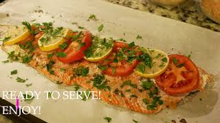 Quick Baked Salmon  Jess Wingin It  What&#39s for Dinner