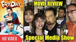 FRYDAY Movie Review | Media Show Review | Govinda, Varun Sharma, Digangana Suryavanshi