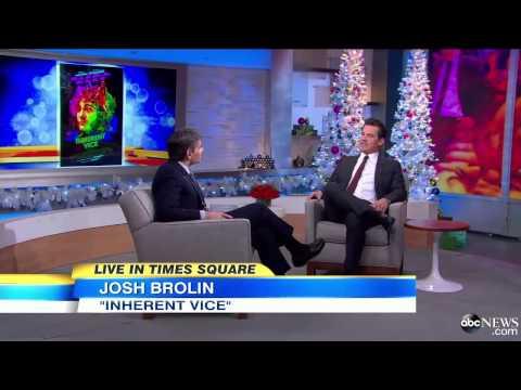 Josh Brolin Interview  Working With Joaquin Phoenix in 'Inherent Vice'