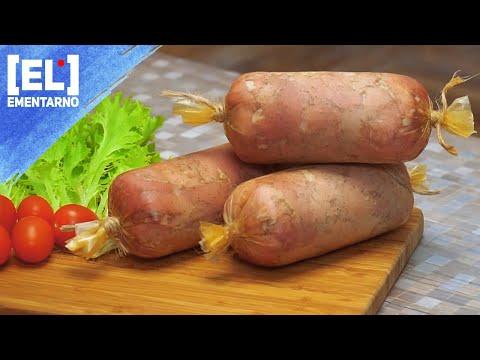 Ветчина из Свинины в Духовке Домашняя Ветчина из Мяса / Пошаговый Рецепт