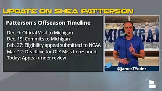 Has Shea Patterson been granted eligibility in 2018? Michigan football rumors update for March 13th