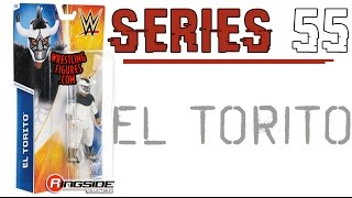 WWE FIGURE INSIDER: El Torito - WWE Series 55 Toy Wrestling Figure from Mattel