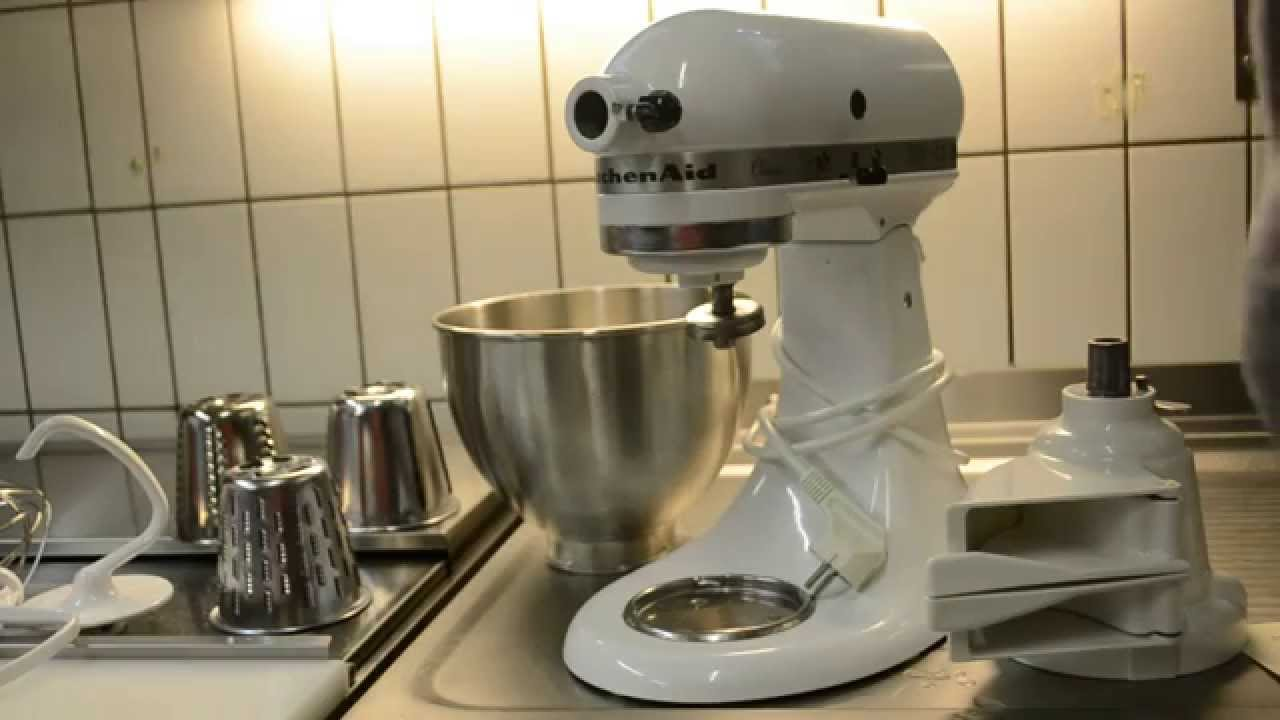 """Erfahrungen mit Küchenmaschine""""KitchenAid classic"""" YouTube"""