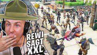 WELTREKORD: Rewi SAGT mit 45 LEUTEN in FORTNITE!