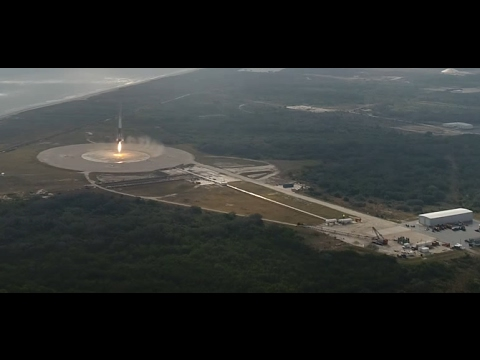 a final look at spacex falcon 9 landing today drone camera onboard camera youtube