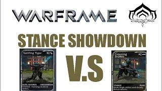 Warframe Stance Showdown: Dual Swords Swirling Tiger VS Crossing Snakes