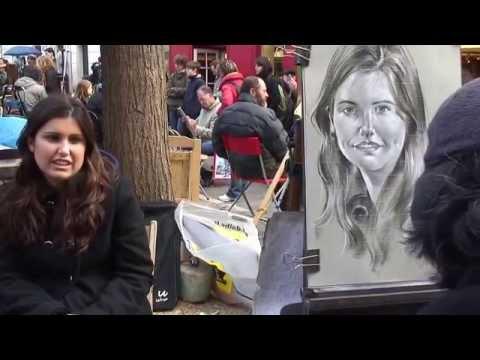 Homage to THEO PENG SENG Montmartre portraitist