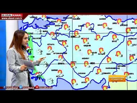 Yurt genelinde hava durumu- 27 Aralık 2017 Çarşamba