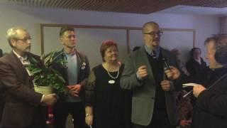 Kunnanlääkärit Oy:n avajaiset Kiuruveden kaupungintalossa 16.1.2017.