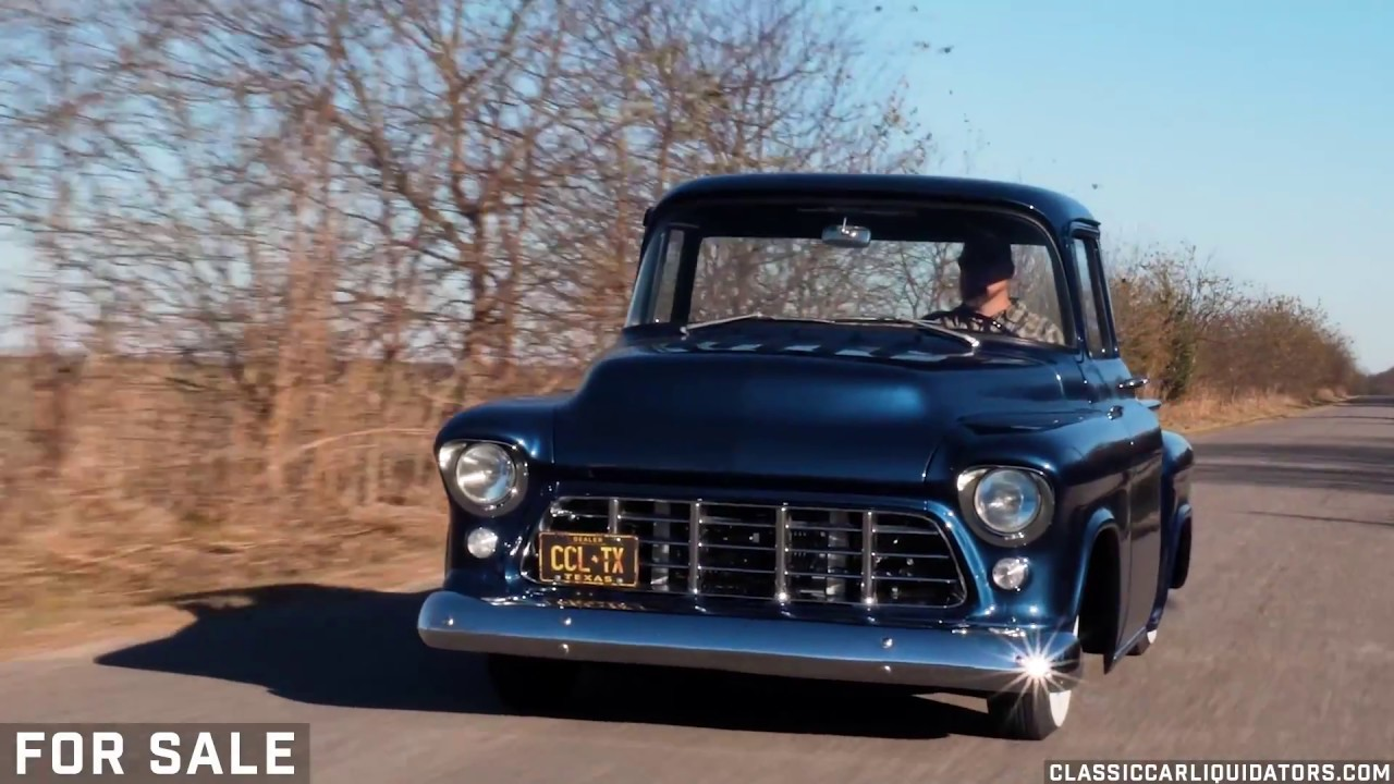 1955 Chevrolet 3100 LS Swap FOR SALE - YouTube