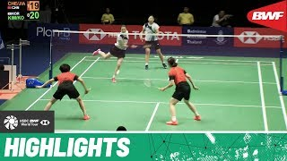 PRINCESS SIRIVANNAVARI Thailand Masters 2020 | Semifinals WD Highlights | BWF 2020