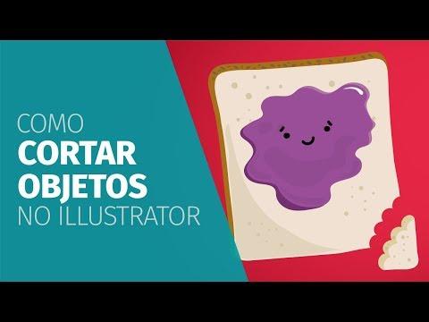 Como CORTAR no Illustrator