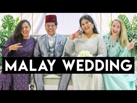 TOURISTS CRASH MALAY WEDDING - Kuala Lumpur, Malaysia