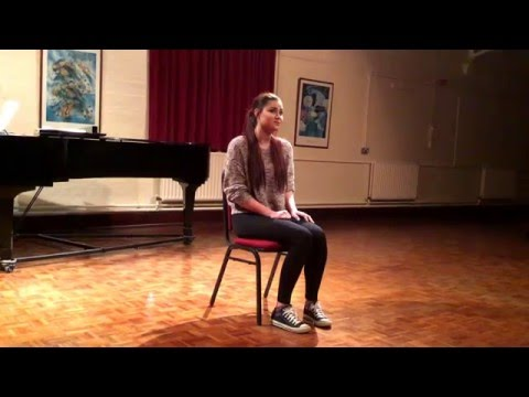 Katie Walder   Wait a Bit from Just So- Maria Friedman Masterclass