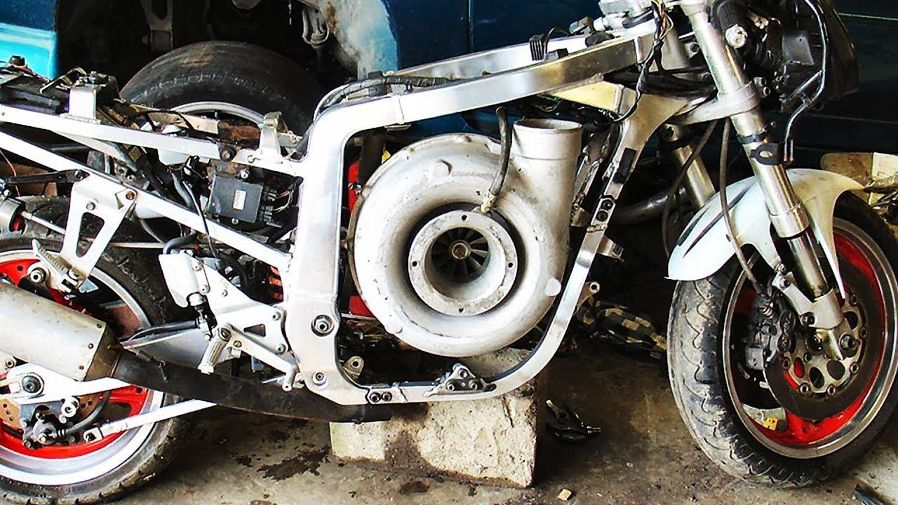 Engine Swap For Kawasaki Motorcycle