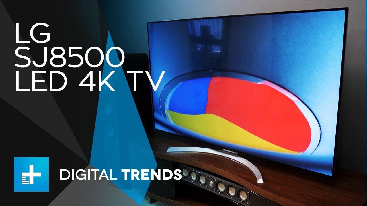 LG SJ8500 LED 4K TV - Hands On Review - YouTube
