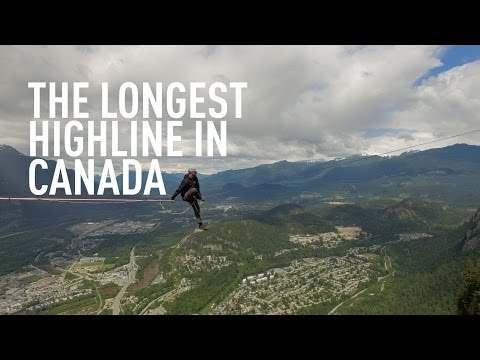 The Longest Highline in Canada!