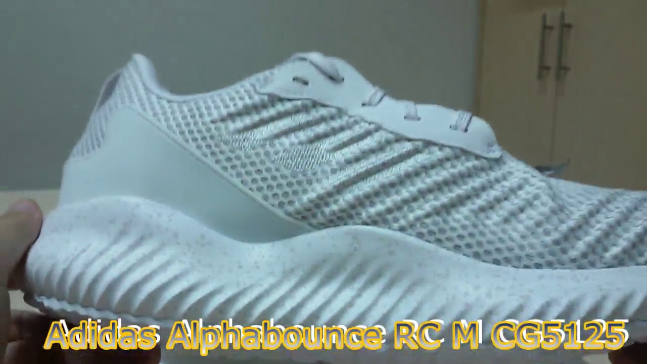 d4ba0a583 Unboxing Sneakers Adidas Alphabounce RC M CG5125 - YouTube