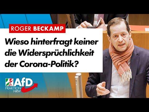Irrtümer, Pannen, Widersprüche, Corona-Politik! – Roger Beckamp (AfD)