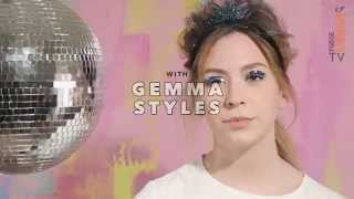 Party Hairstyle How To | Chanel Inspired Sixties French Knot | Gemma Styles