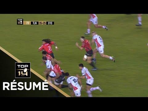 TOP 14 - Résumé Toulon-Oyonnax : 49-25 - J13 - Saison 2017/2018