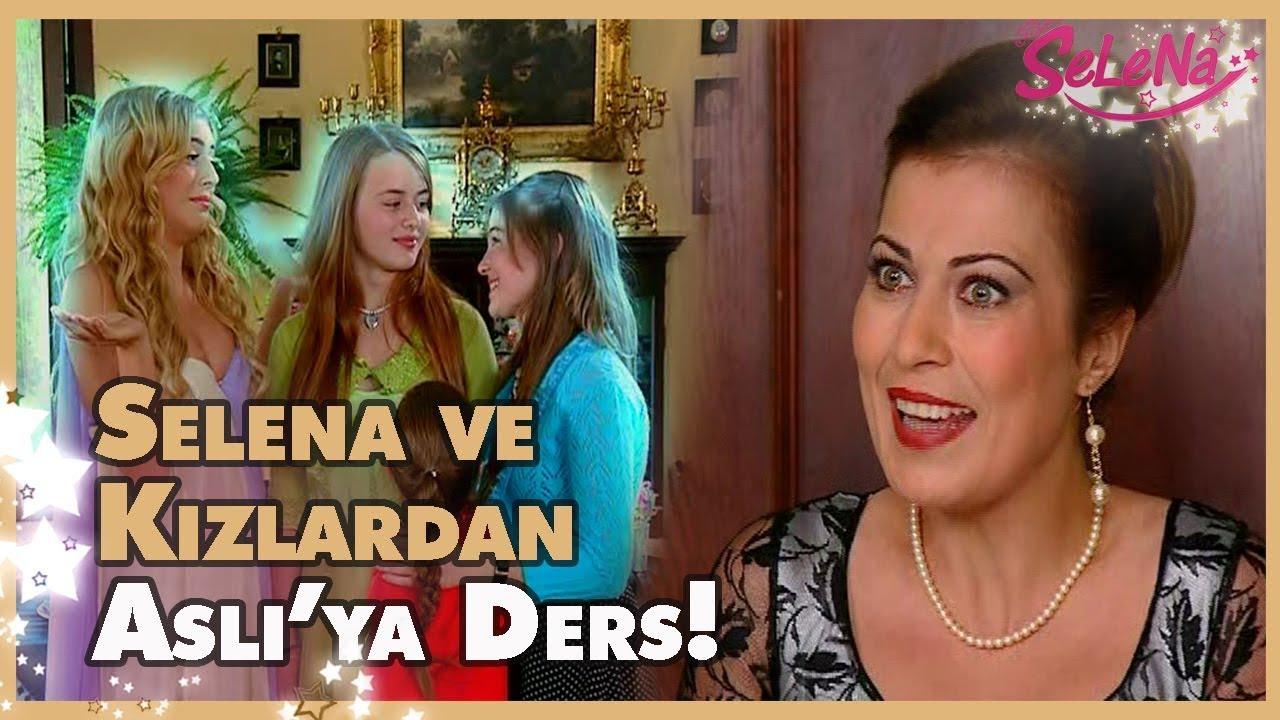 Selena ve kızlardan Aslı'ya büyük ders!