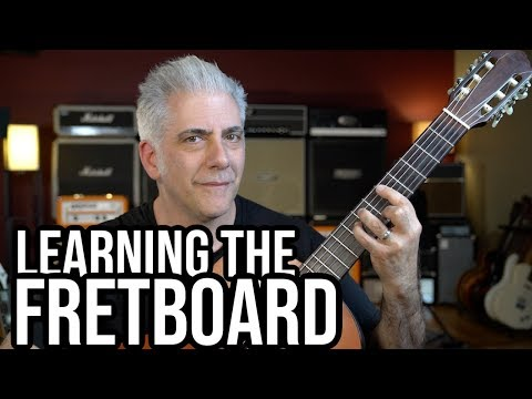 How To QUICKLY LEARN The FRETBOARD