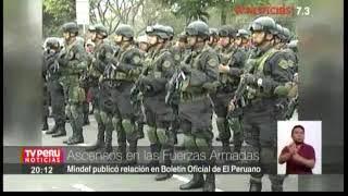 ACENSOS DE OFICIALES EP-TV-PERU