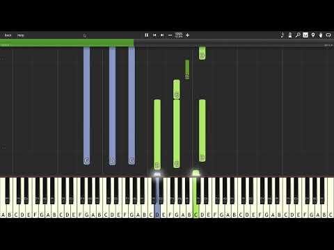 H.I.P.I : 22 Amazing Film Themes (Part 2) - Karim Kamar [Piano Tutorial] (Synthesia)
