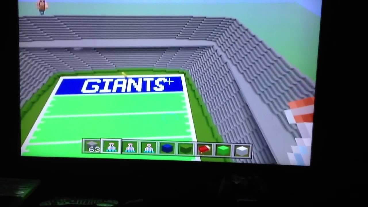 3ed641ec0d2 MetLife Stadium Minecraft Edition - YouTube