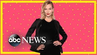 Supermodel Karlie Kloss: Someone tried to change my runway walk | GMA Digital