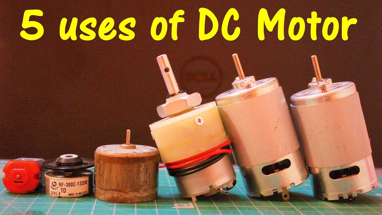 5 useful things from DC motor - For daily use