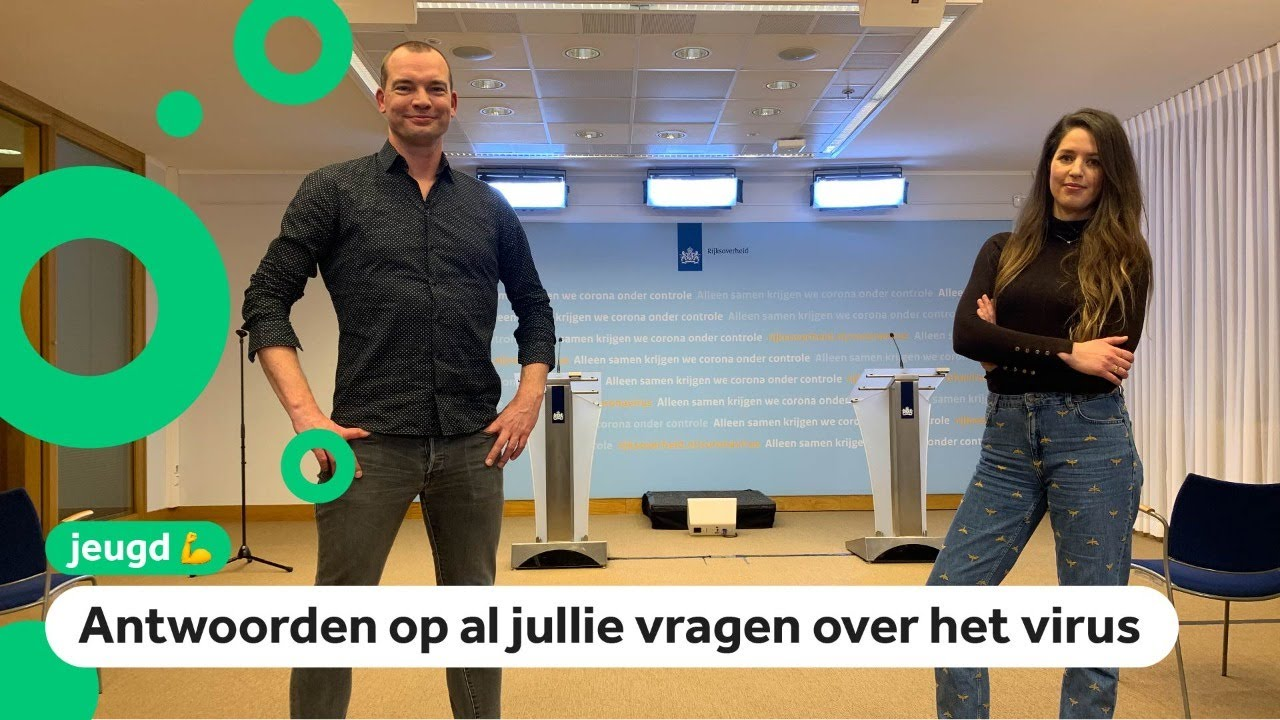 NL: Jeugdjournaal to hold children's press conference with Rutte and De Jonge
