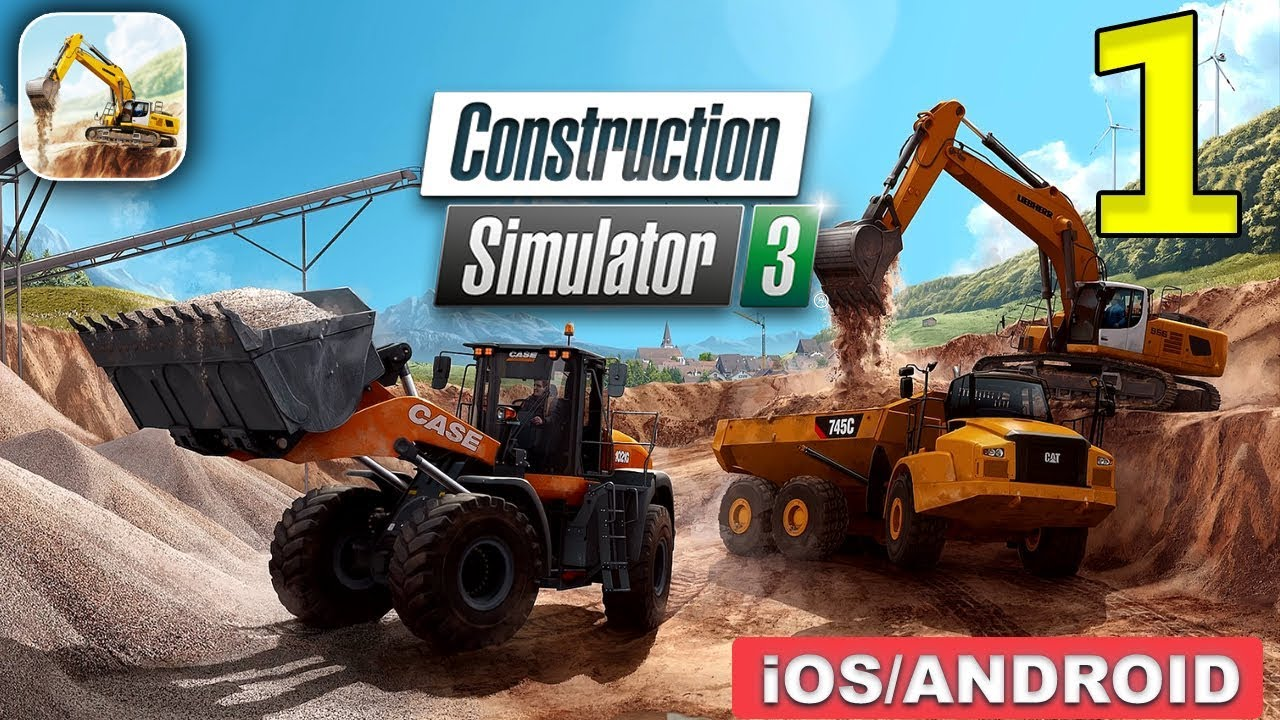 Construction Simulator 3 скачать для iPhone, iPad и iPod
