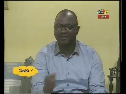 Rodrigue Momo presents EDUC FORUM at CRTV (Cameroon Radio Television)