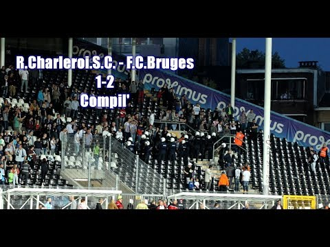 R.Charleroi.S.C. - F.C. Bruges 1-2 Compil' + incidents By Julien Trips Photography